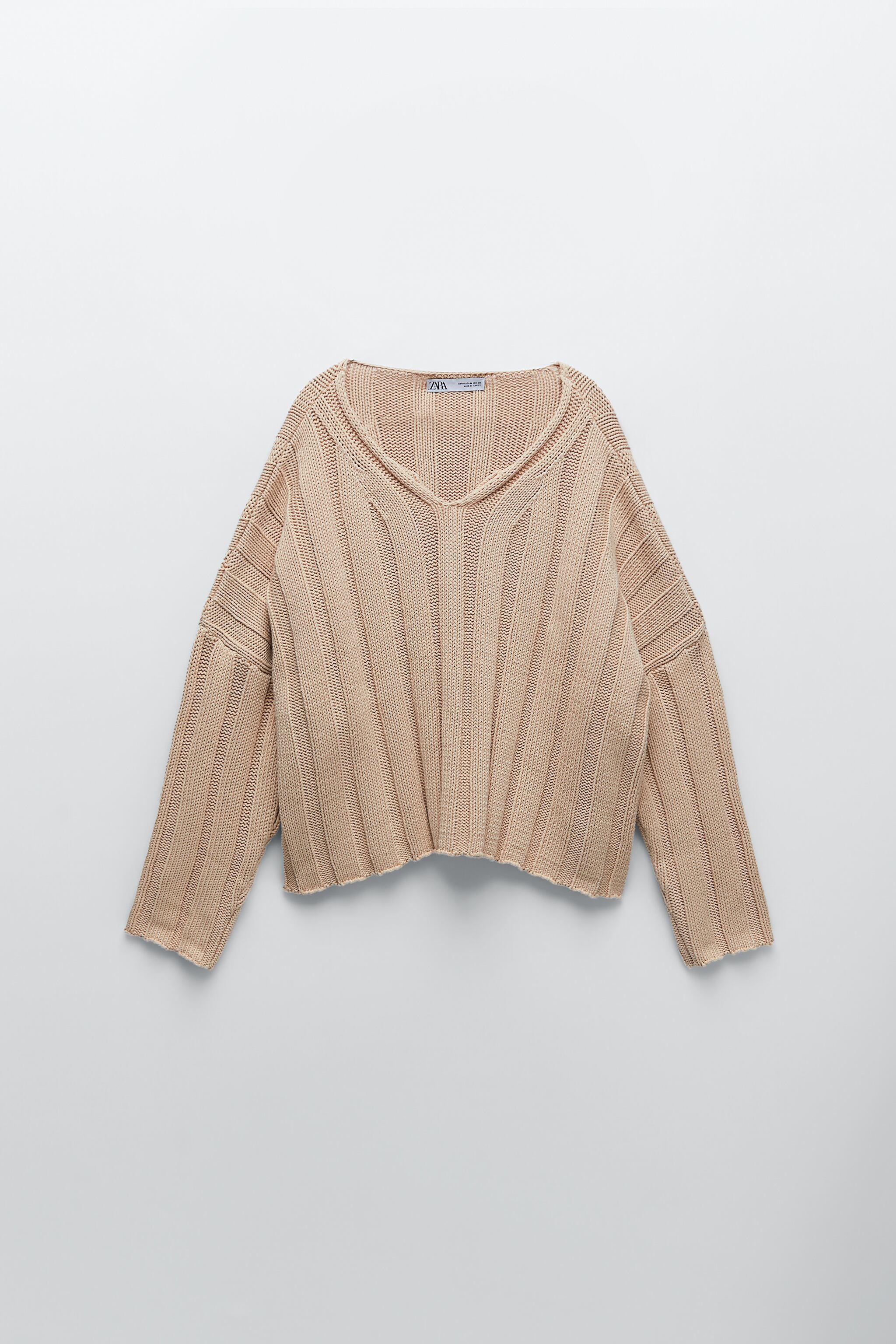 RIBBED KNIT SWEATER 4