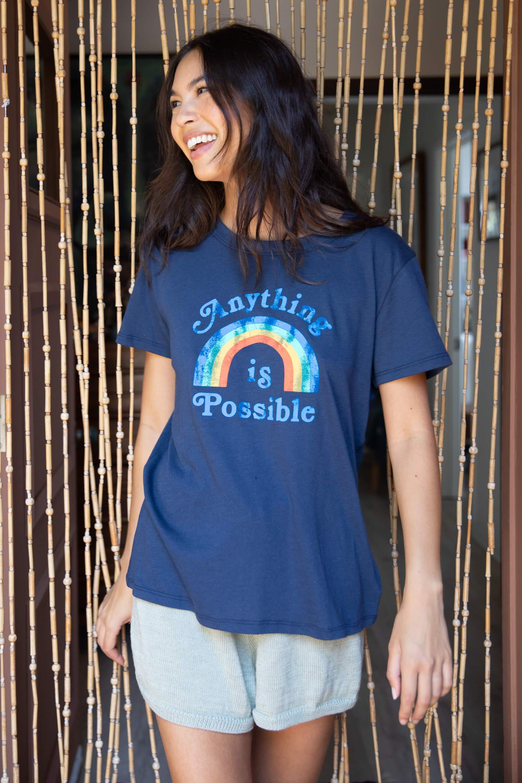 ANYTHING IS POSSIBLE LOOSE TEE
