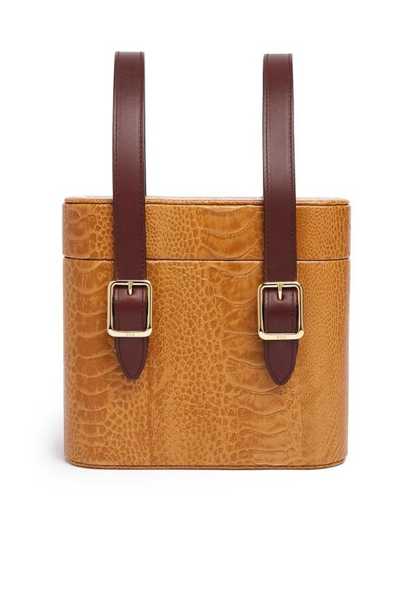 ODP by Arizona Muse Picnic Safari - Sustainable Ostrich Leather