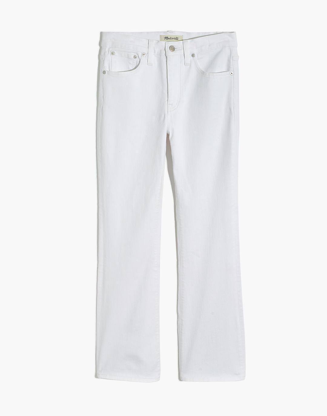 Tall Cali Demi-Boot Jeans in Pure White 4