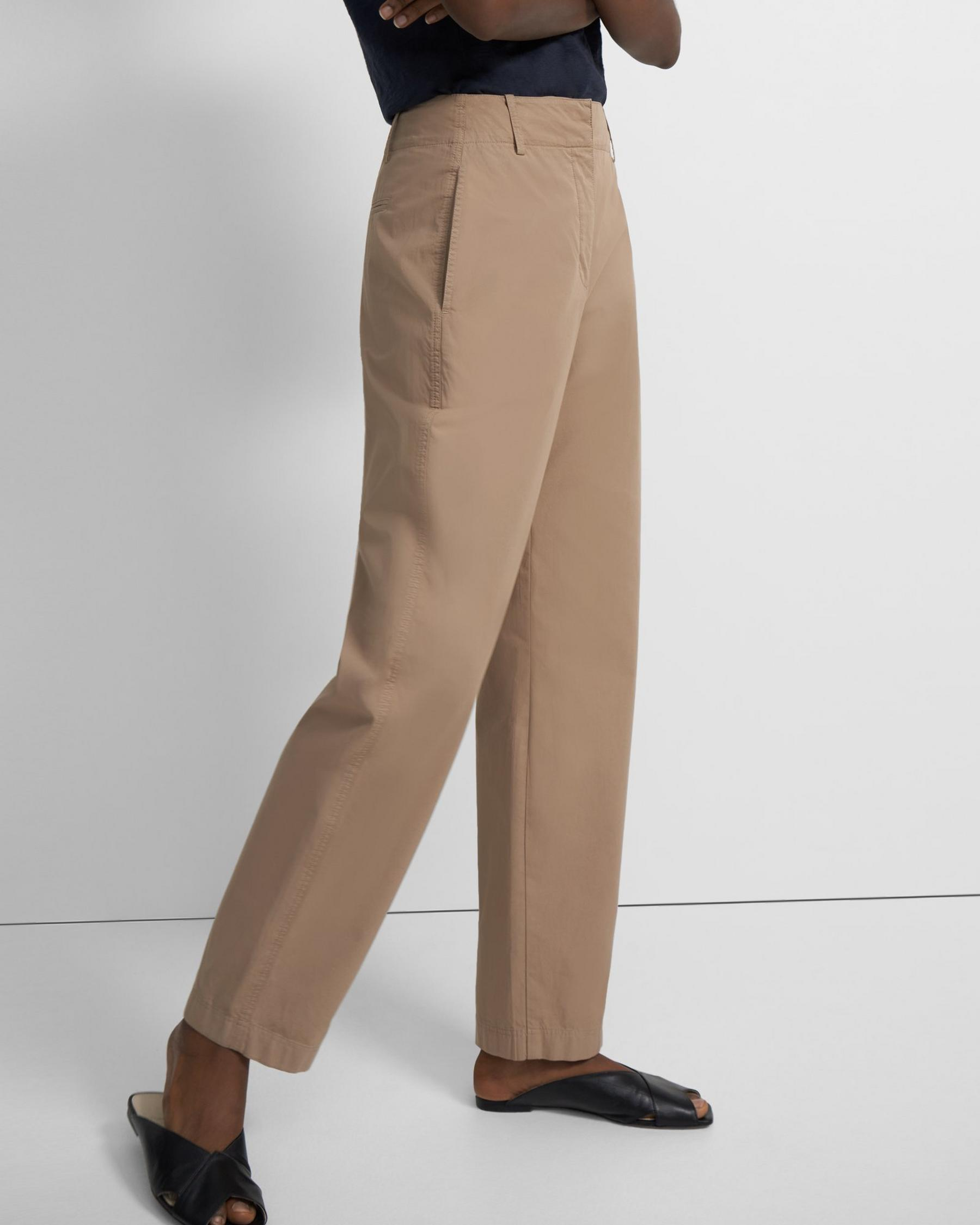 Curve Pant in Garment-Dyed Cotton 3