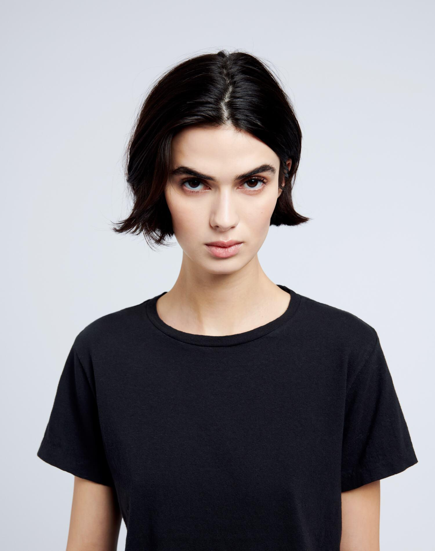 Heritage Cotton Classic Tee - Washed Black 2
