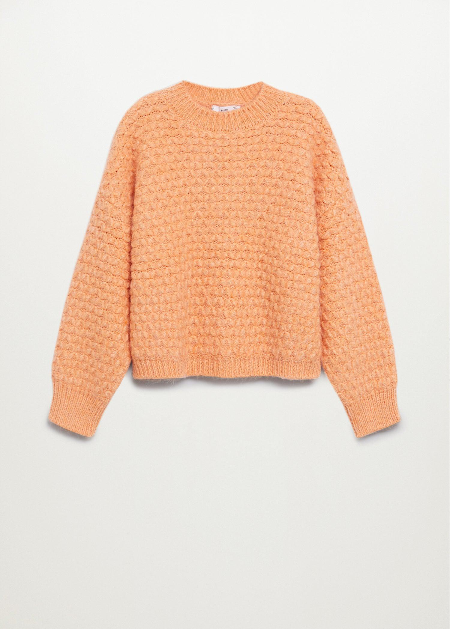 Textured knit sweater 6