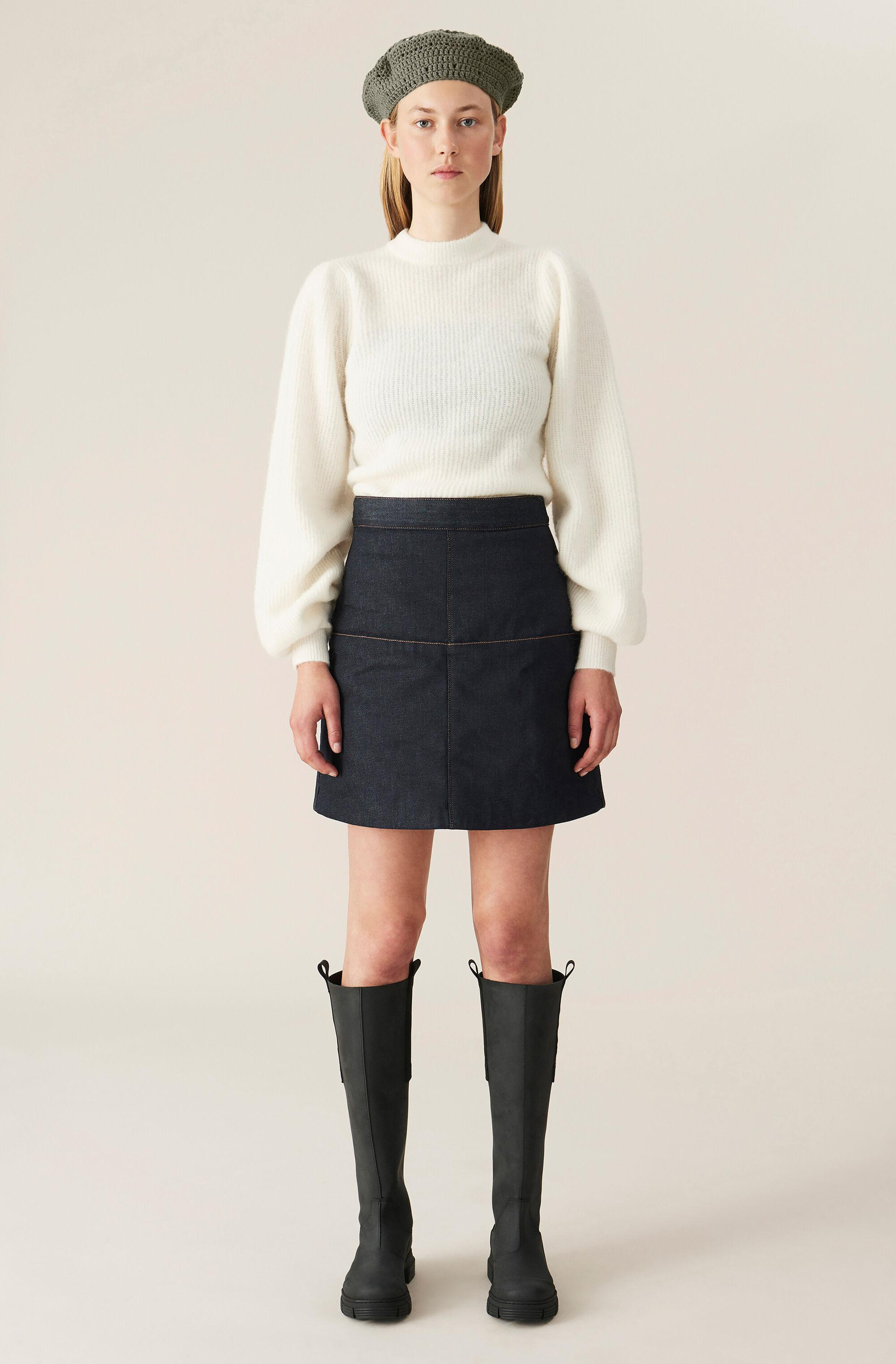 Soft Wool Knit Pullover - Solid 1