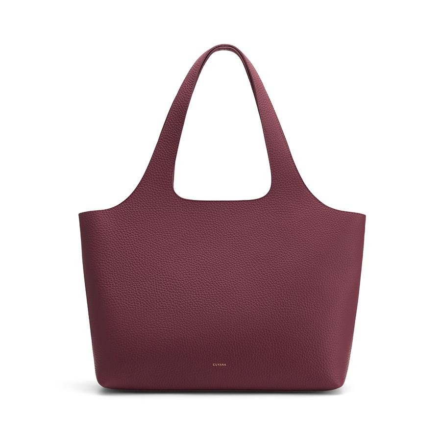 Women's System Tote Bag in Merlot | Size: