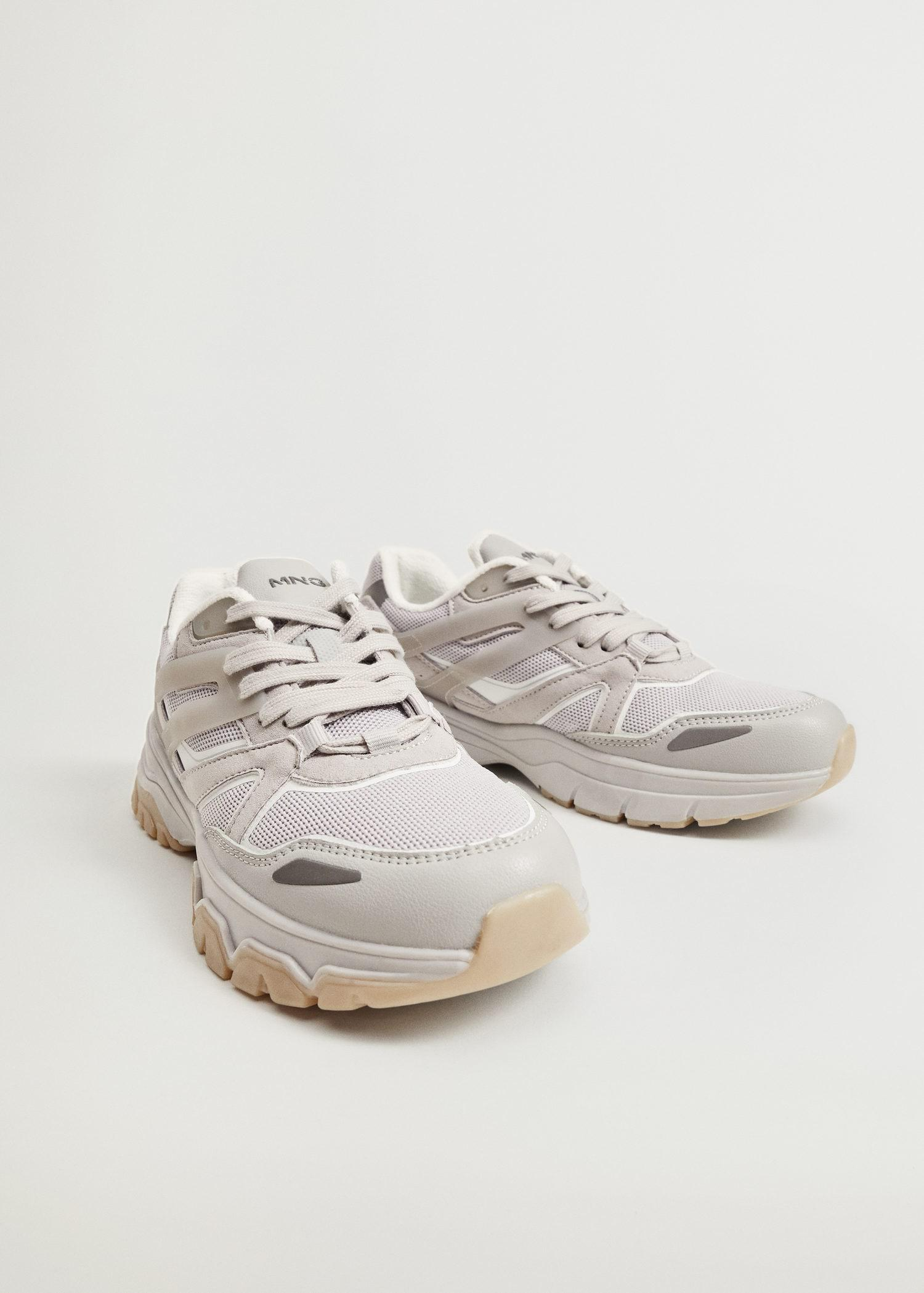 Track sole sneakers 1