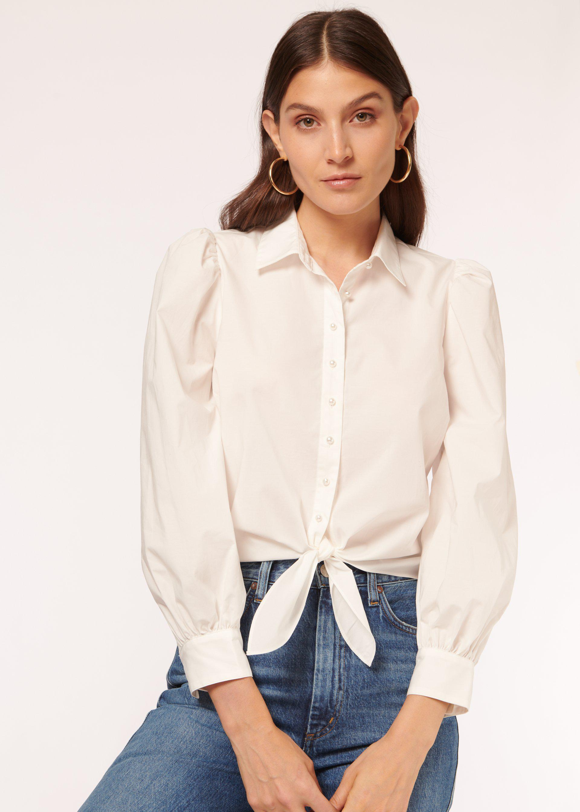 Lee Top White