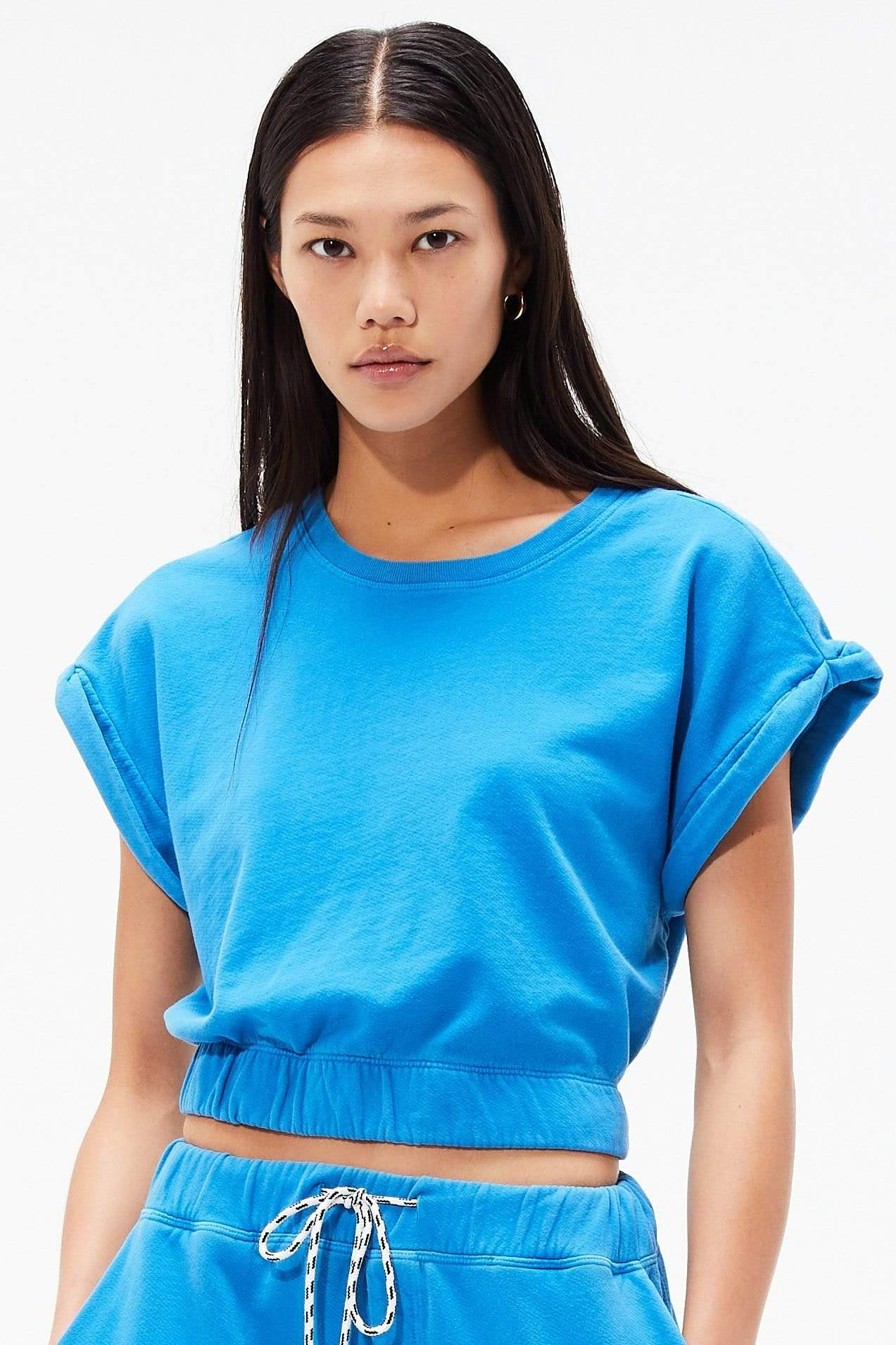 Franky French Terry Sweatshirt - Persian Blue