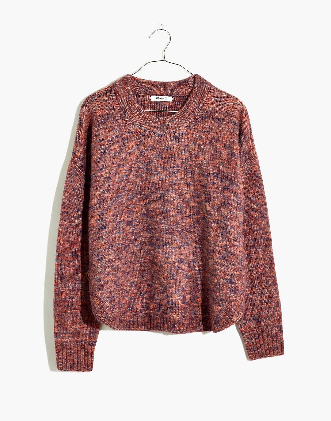 Space-Dyed Birchmont Side-Button Pullover Sweater 3