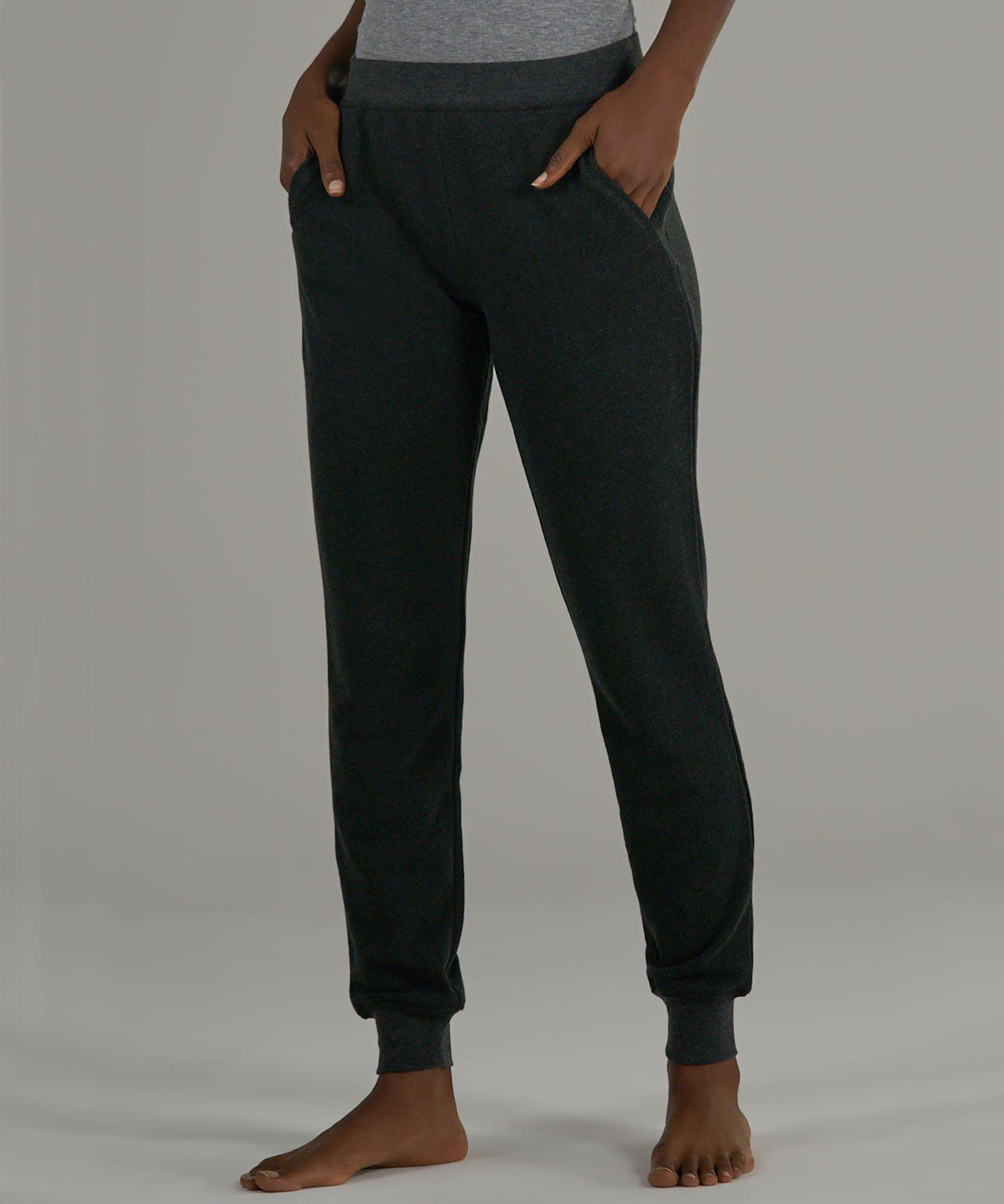 French Terry Sweatpants - Heather Charcoal
