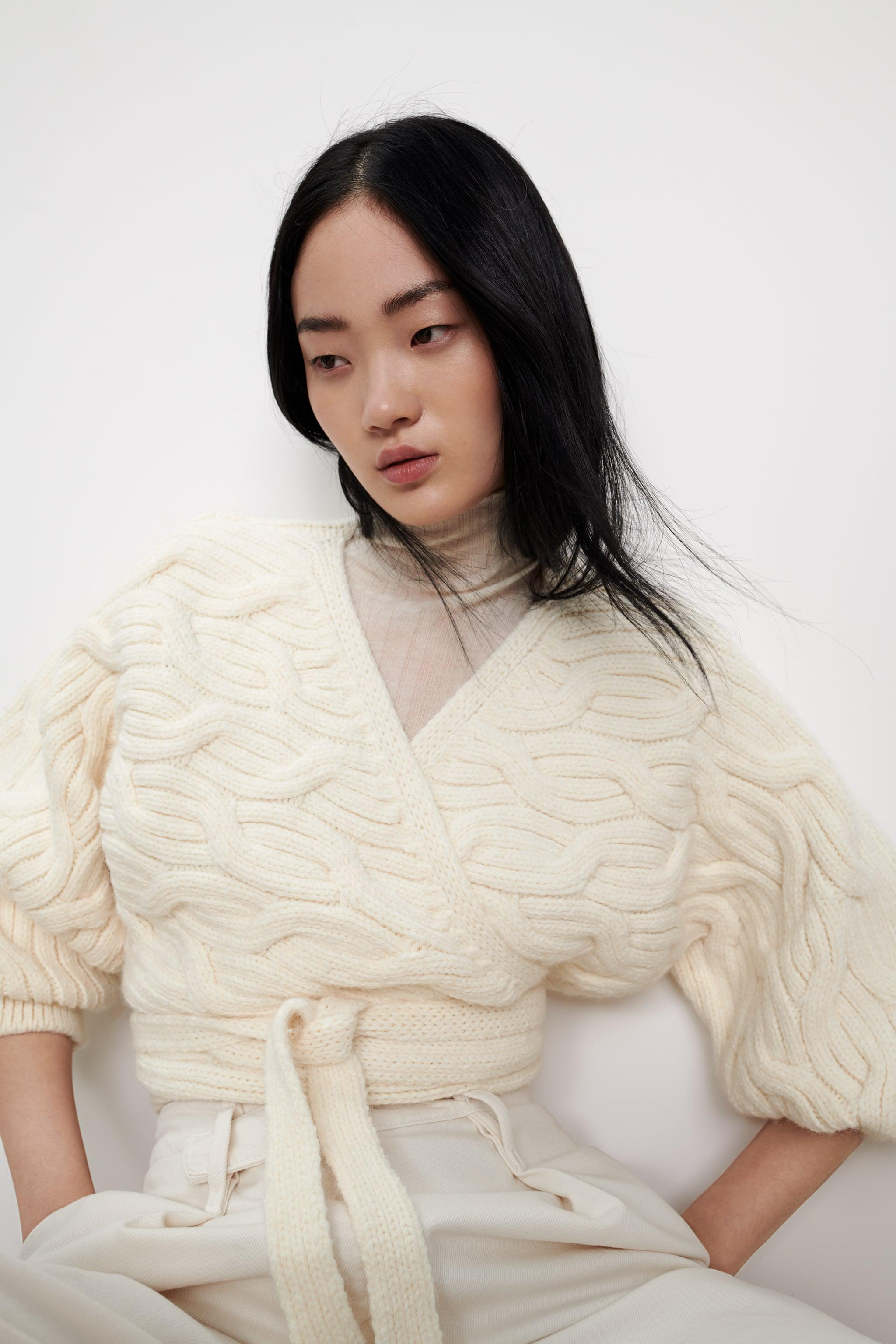 CABLE-KNIT JACKET 2