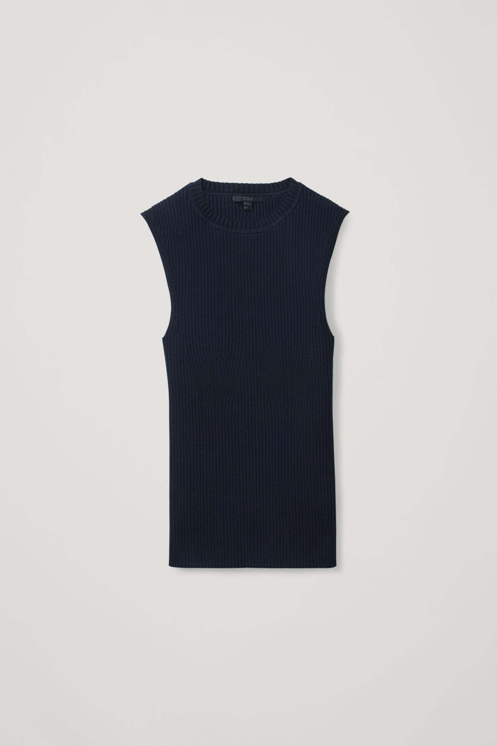 SLEEVELESS KNITTED TOP 5