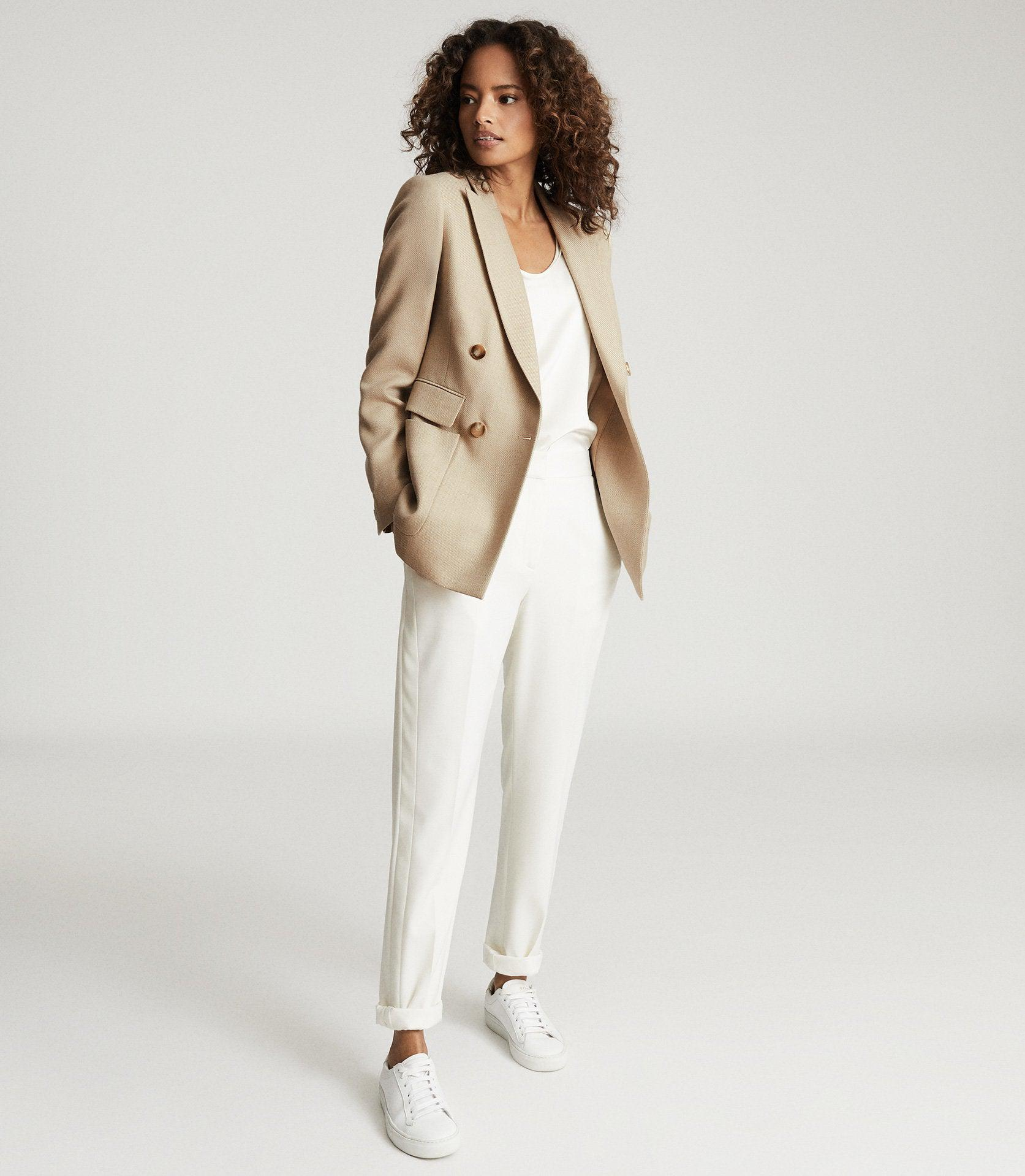 LARSSON - DOUBLE BREASTED TWILL BLAZER
