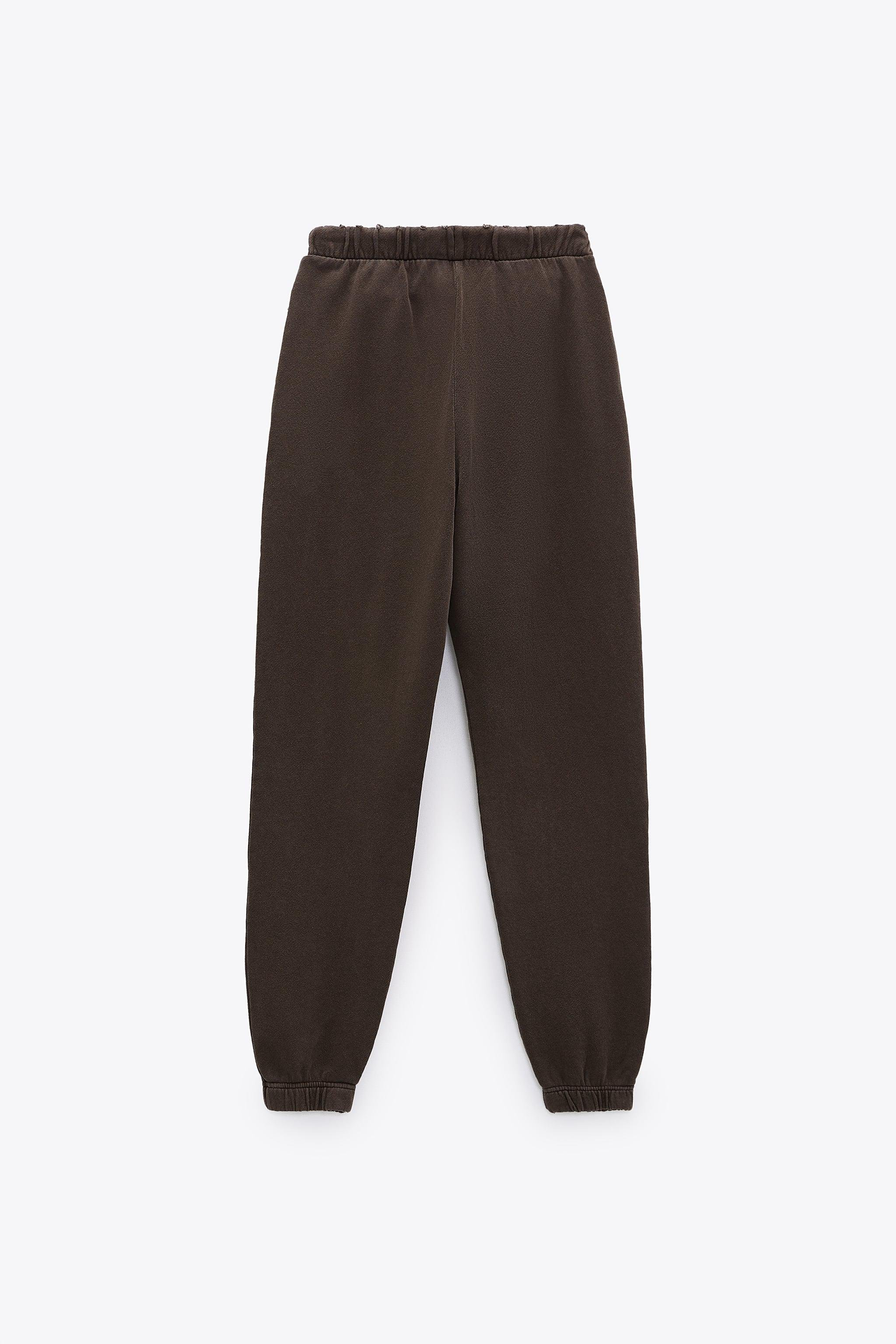 WASHED EFFECT JOGGER PANTS 3