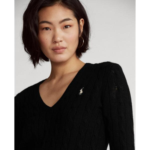 Cable Wool-Cashmere Sweater 2