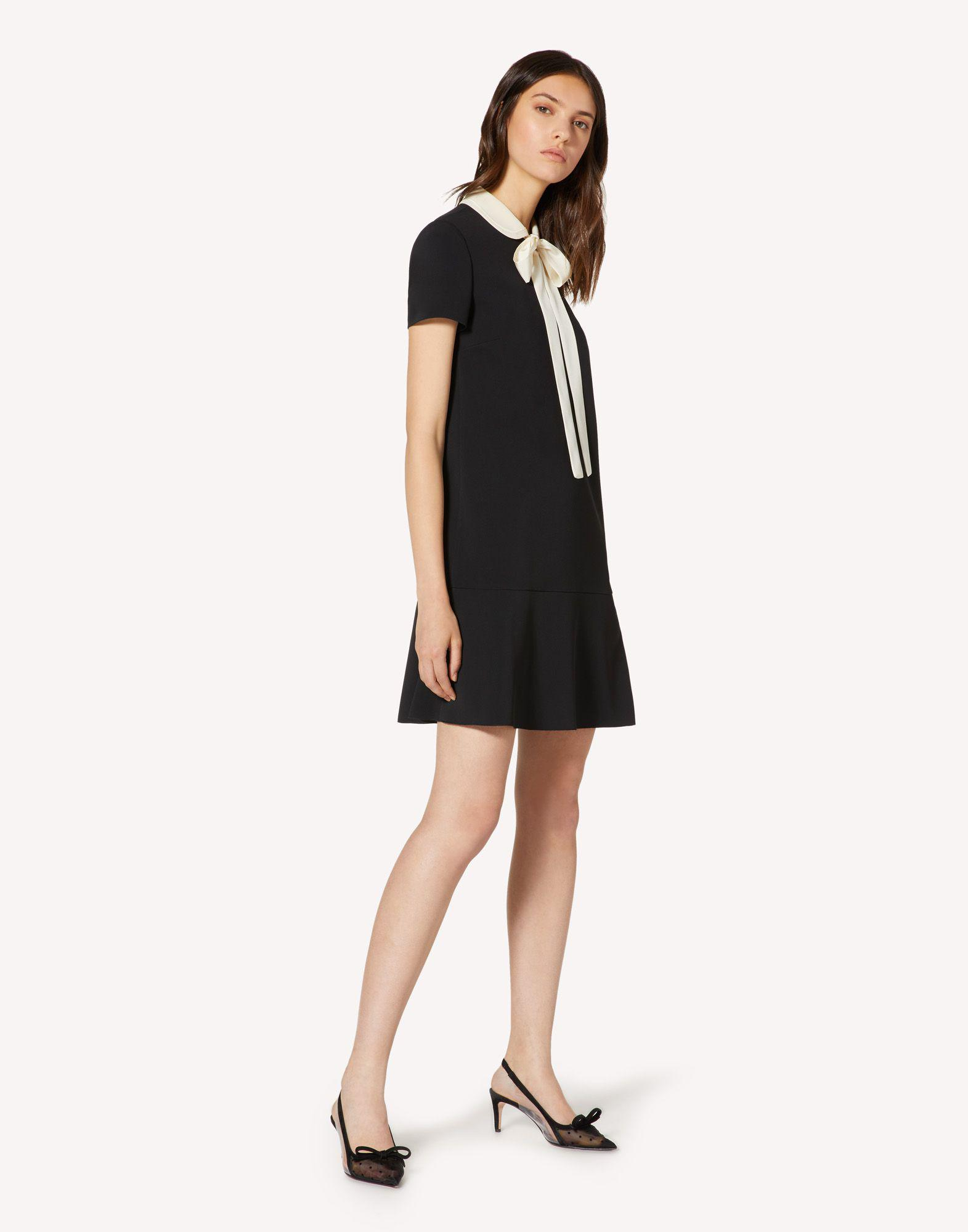 FRISOTTINO DRESS WITH COLLAR DETAIL 2