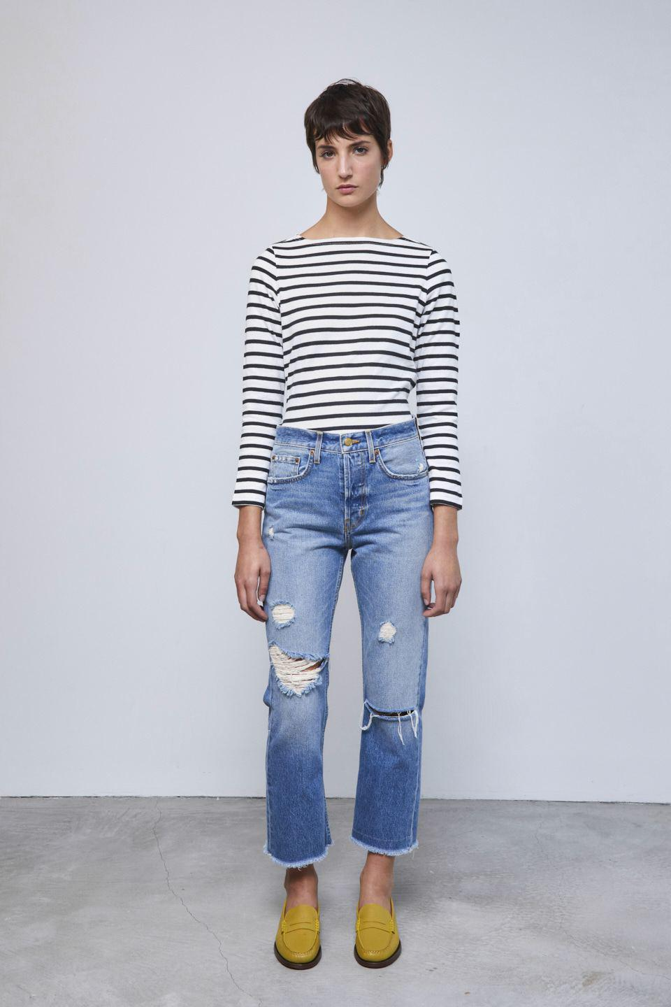 Marcel Relaxed Straight Jean Murray Vintage Distressed