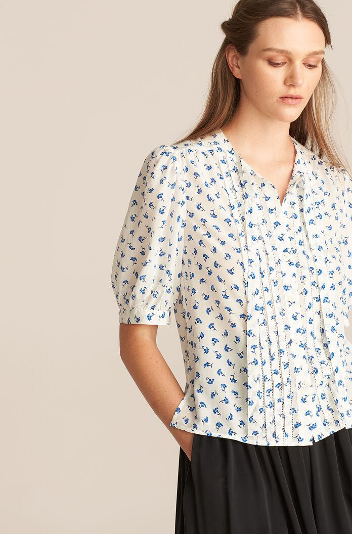 PUFF SLEEVE EMMY BLOUSE