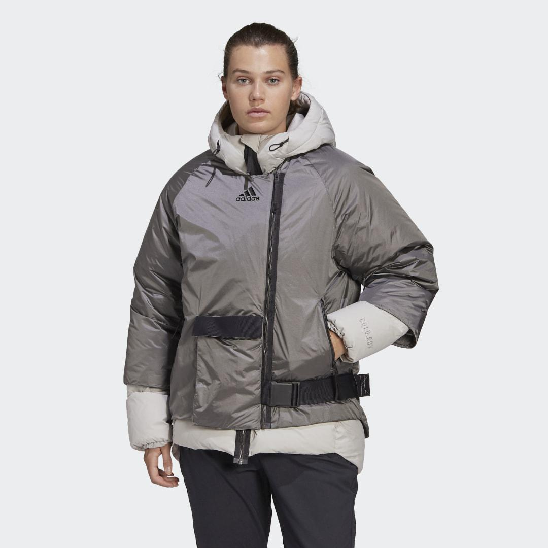 COLD.RDY Down Jacket Metal Grey