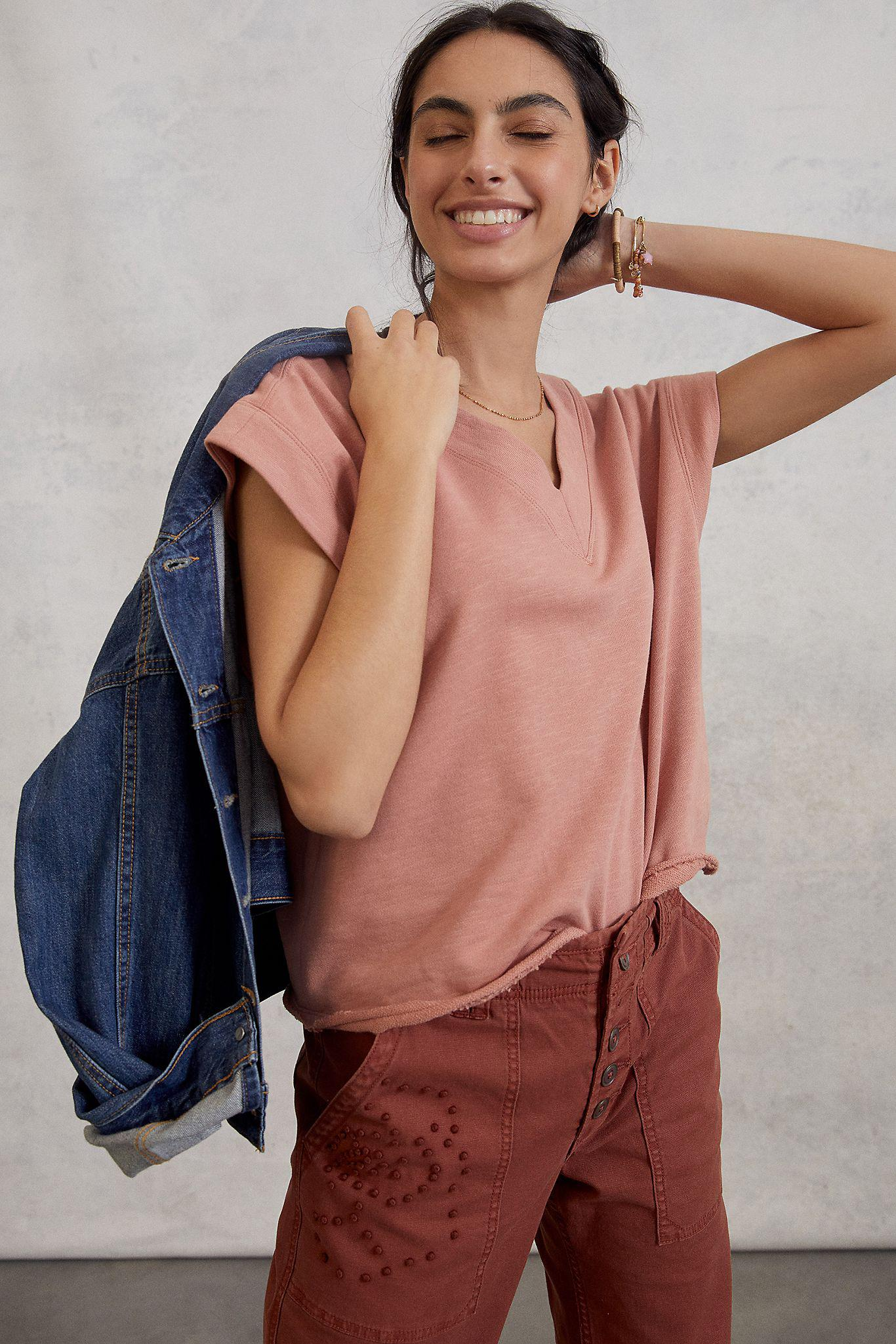 Maeve Cindy Pullover Top