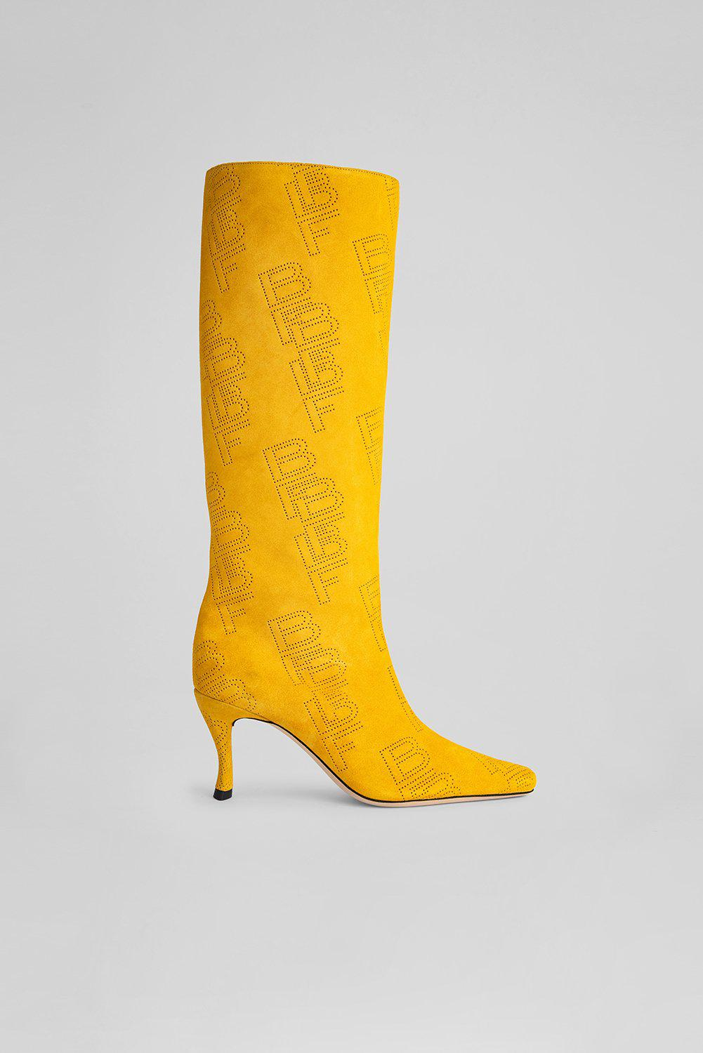 Stevie 42 Taxi Perforated Suede Leather