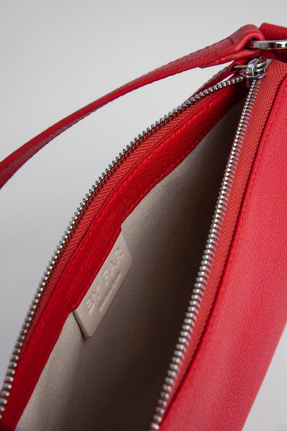 Rachel Red Grained Leather 5