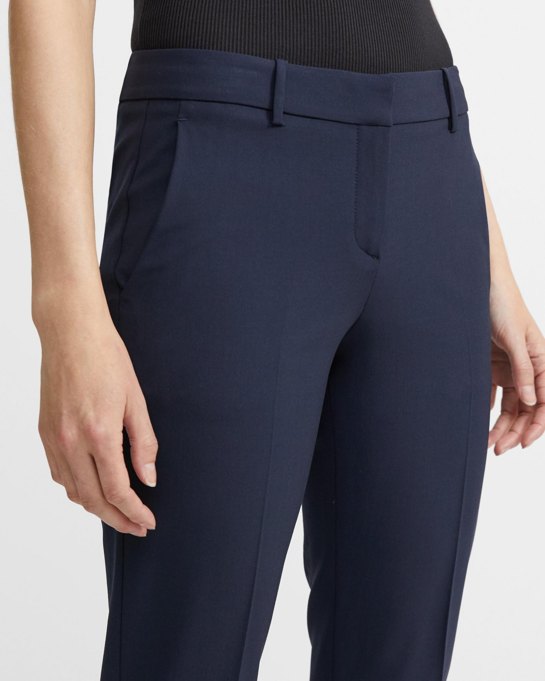 Classic Cropped Pant in Stretch Wool 2