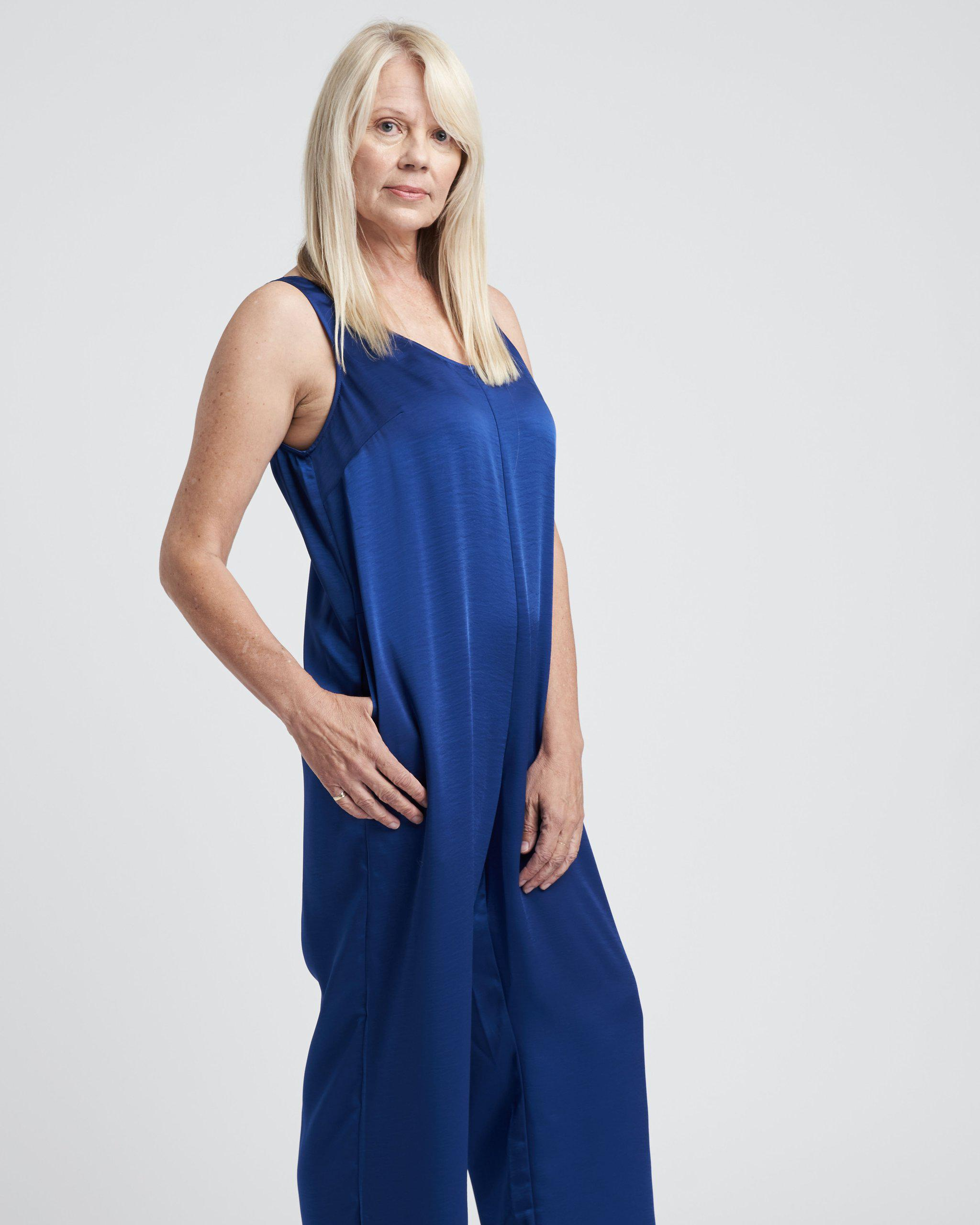 Judy Satin Relaxed Jumpsuit 4