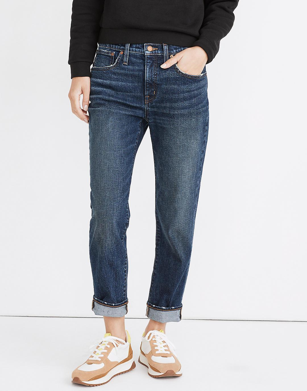 Tomboy Straight Jeans in Chaseley Wash 3