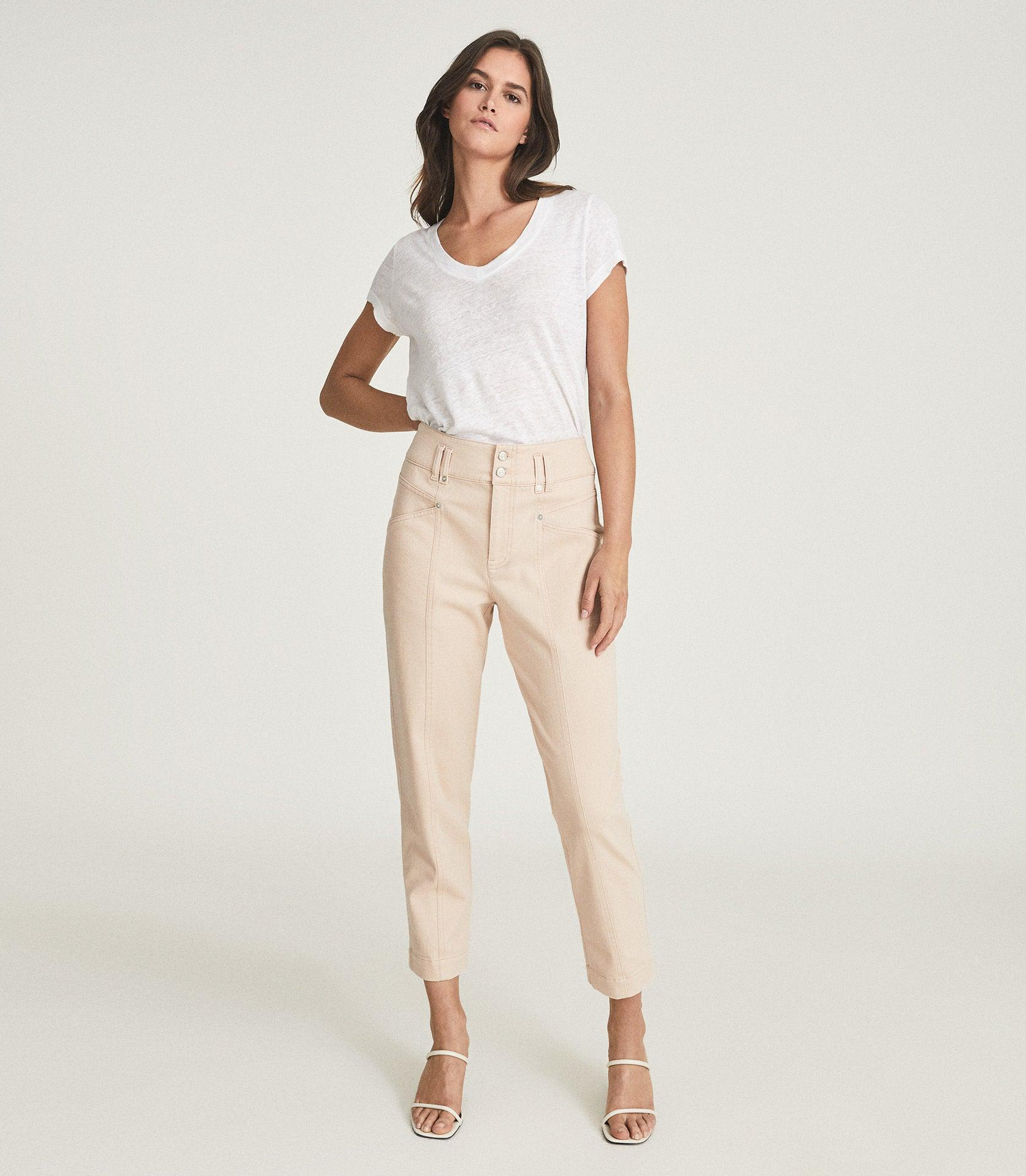 BAXTER - RELAXED TAPERED FIT TROUSERS