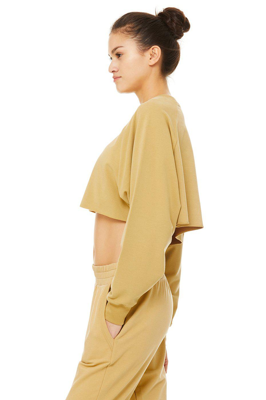 Double Take Pullover - Honey 1