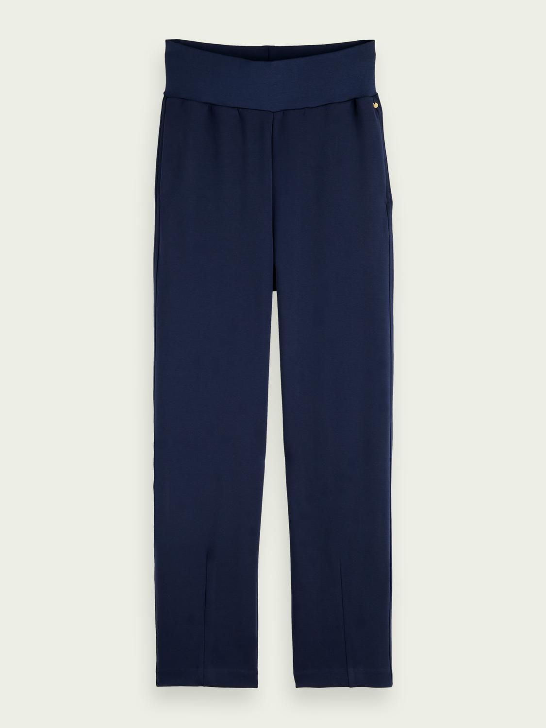 Tapered high-rise sweatpants