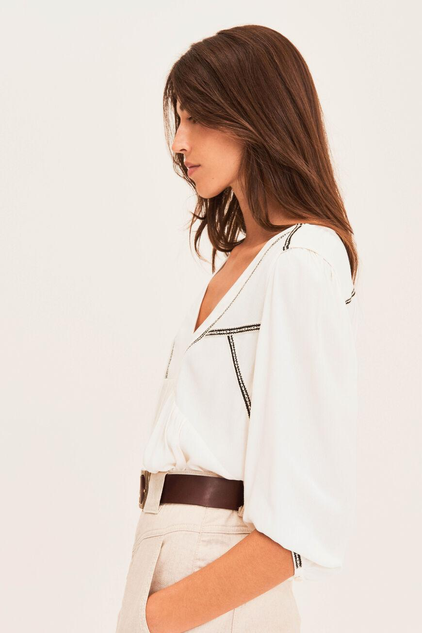 amber.EMBROIDERED BLOUSE 1