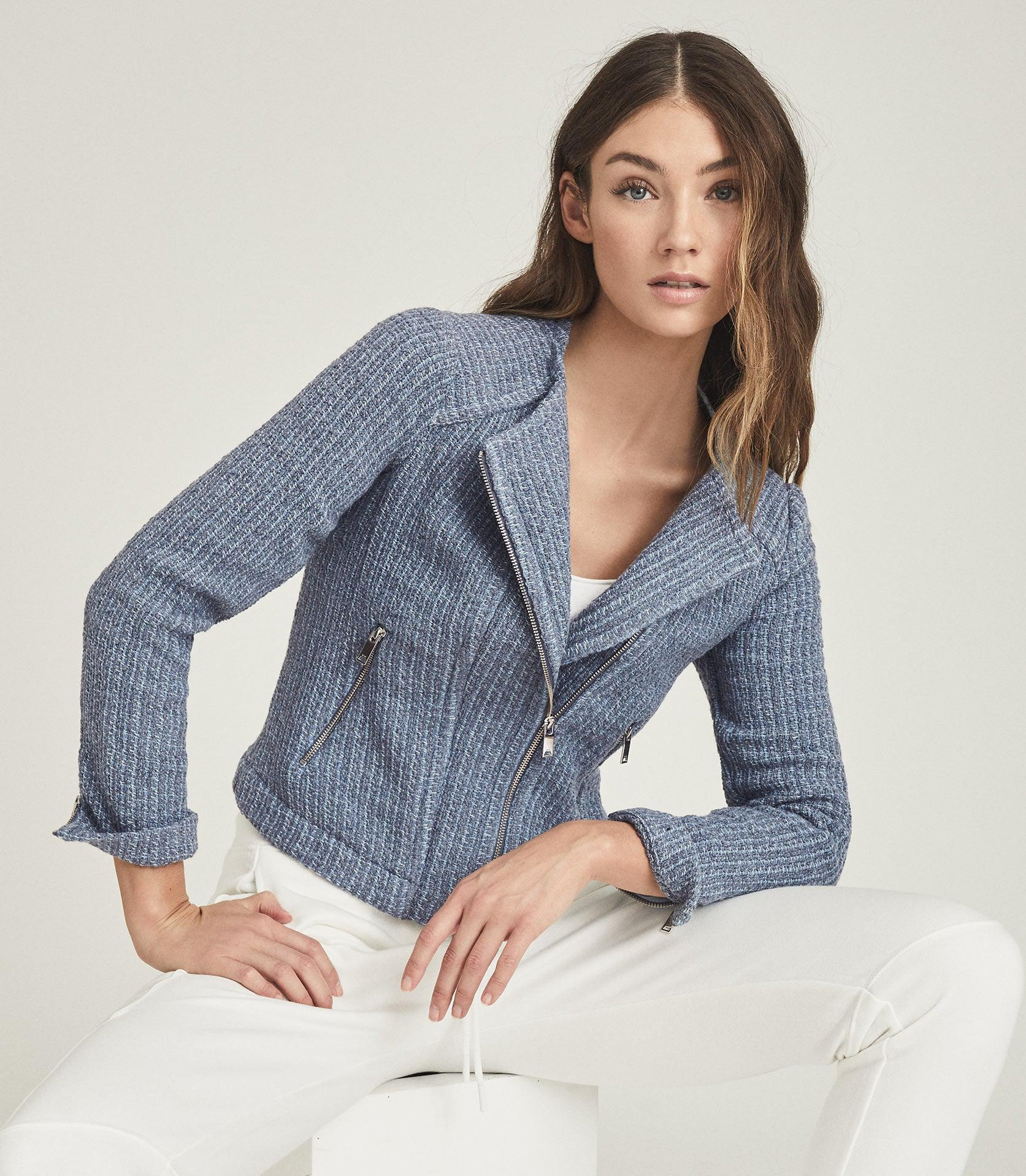 ESSIE - CROPPED BOUCLE JACKET 1