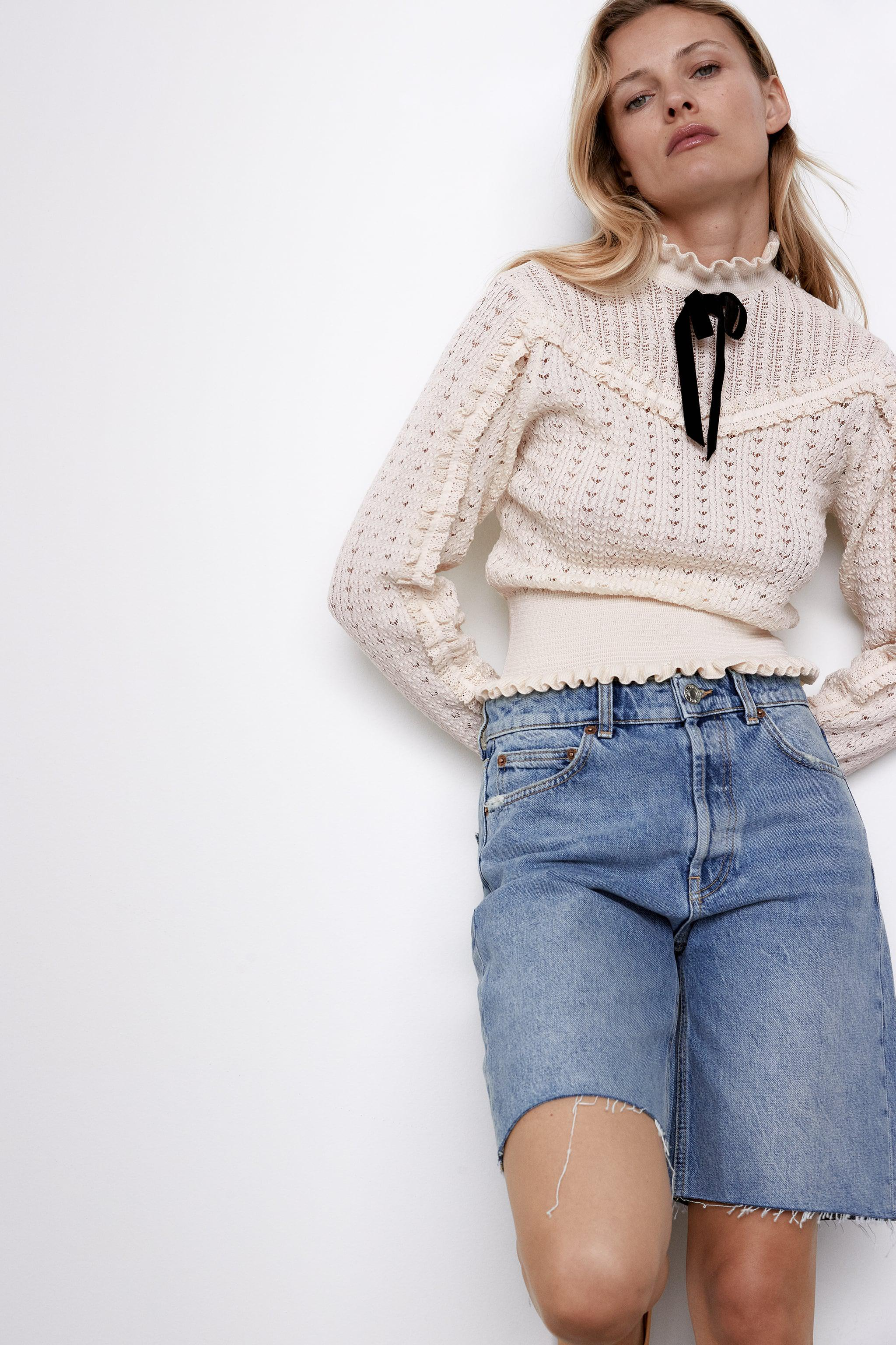 TIED KNIT SWEATER 1