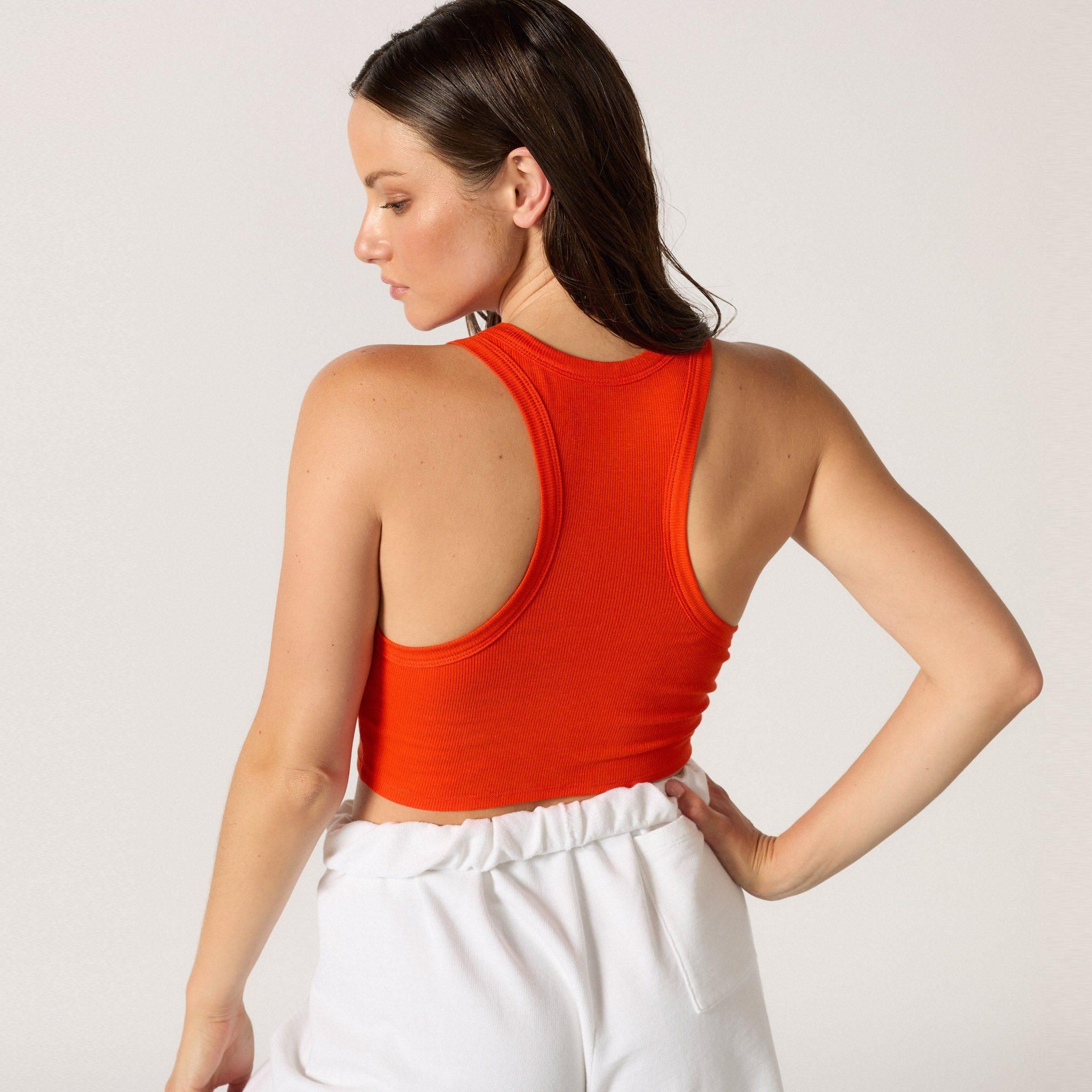 The Live-in Cropped Rib Tank 6