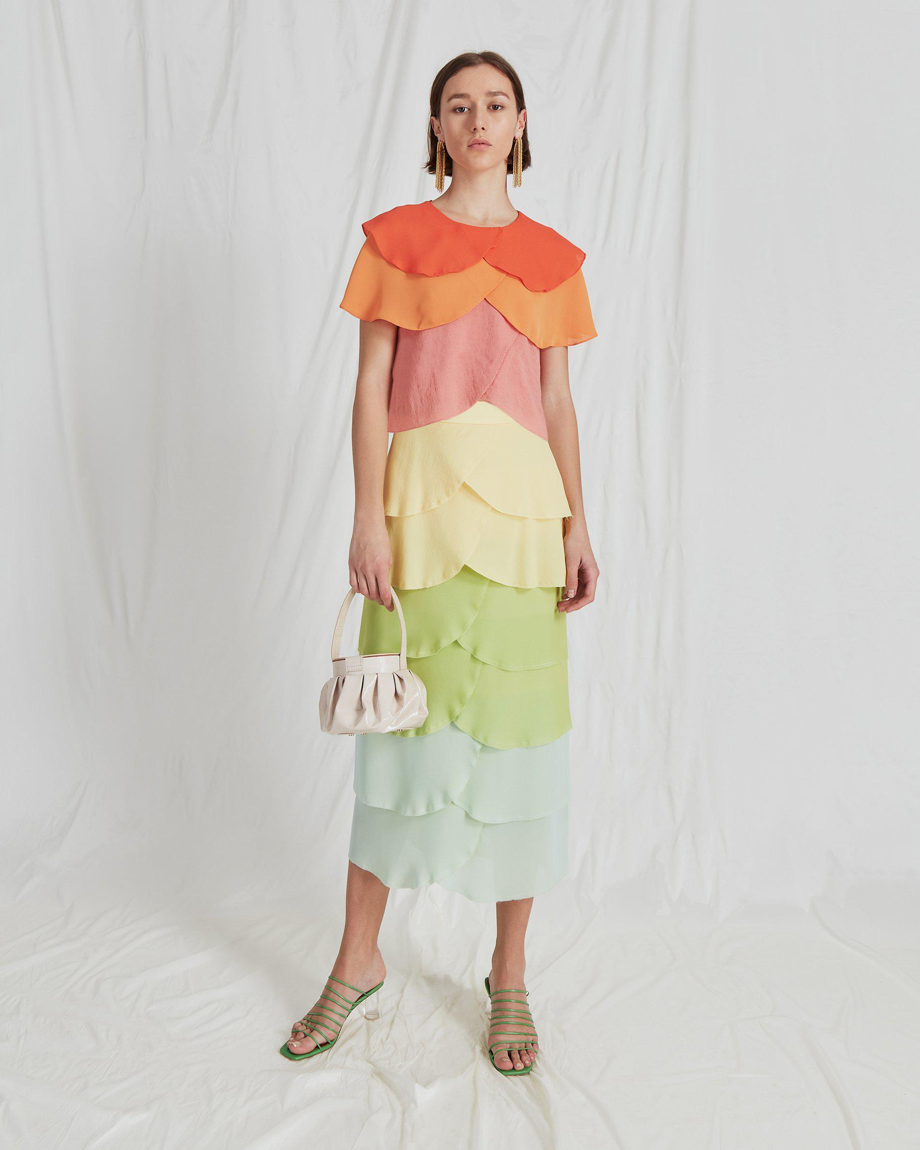 Jude Blouse Crepe Ombre Mix - SPECIAL PRICE 2