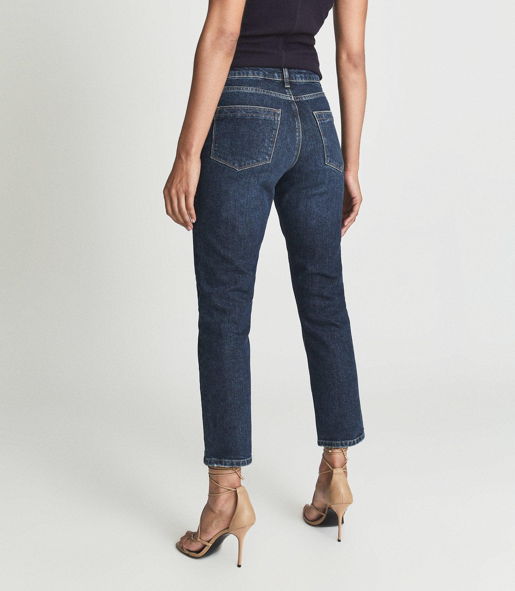 BAILEY - MID RISE SLIM CROPPED JEANS 2