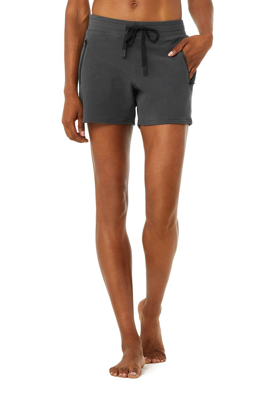 Double Take Sweat Short - Anthracite