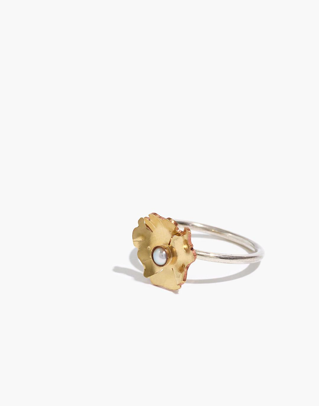 Geoflora Jewelry Floral Ring