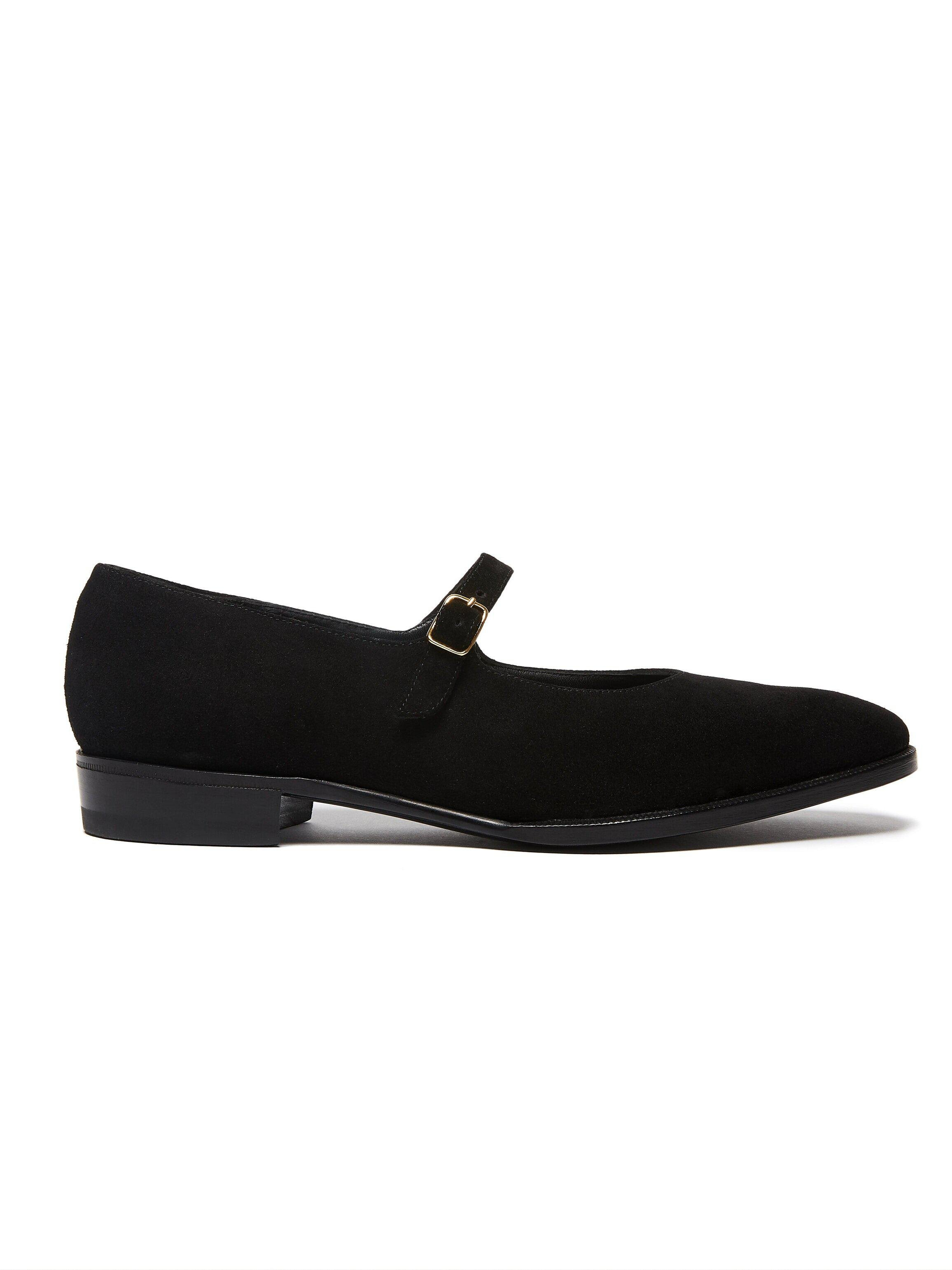 ODPEssentials Classic Mary Jane - Black Suede 1