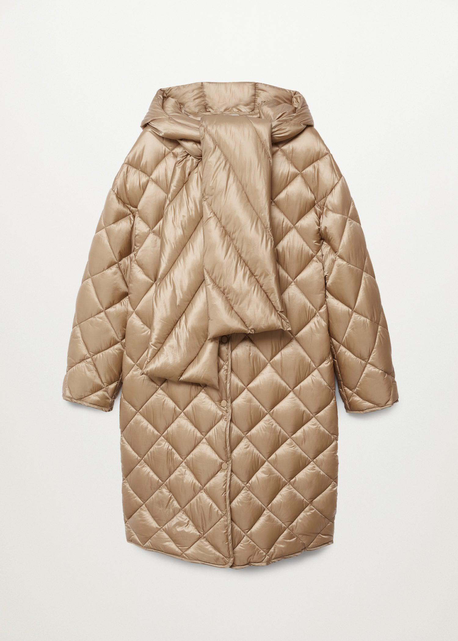 Oversize quilted coat 10