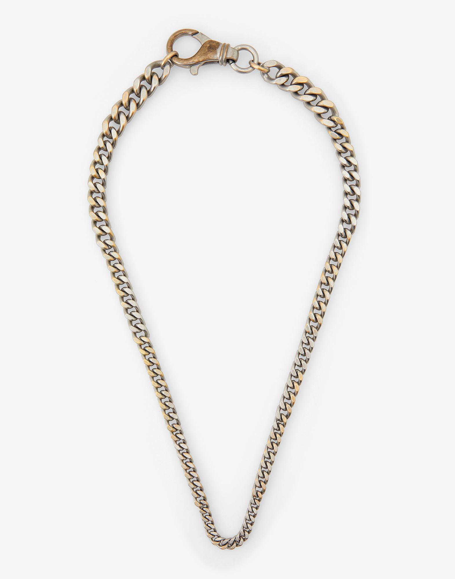 Reversed chain necklace