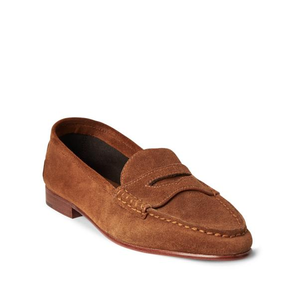 Ashtyn Suede Penny Loafer 1