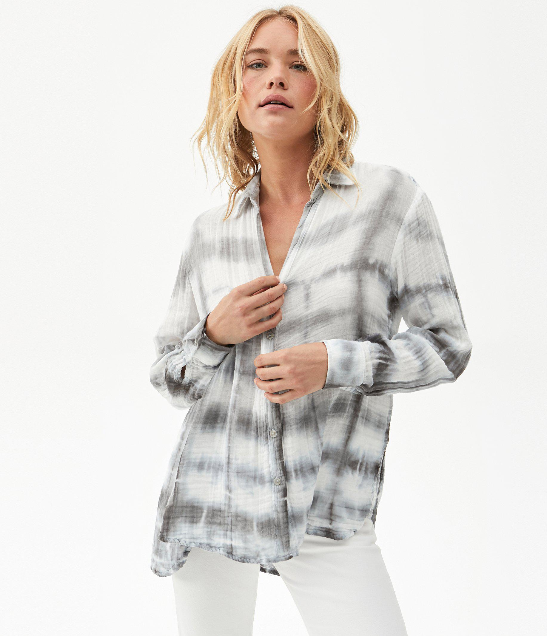 Leo Tie Dyed Button Down