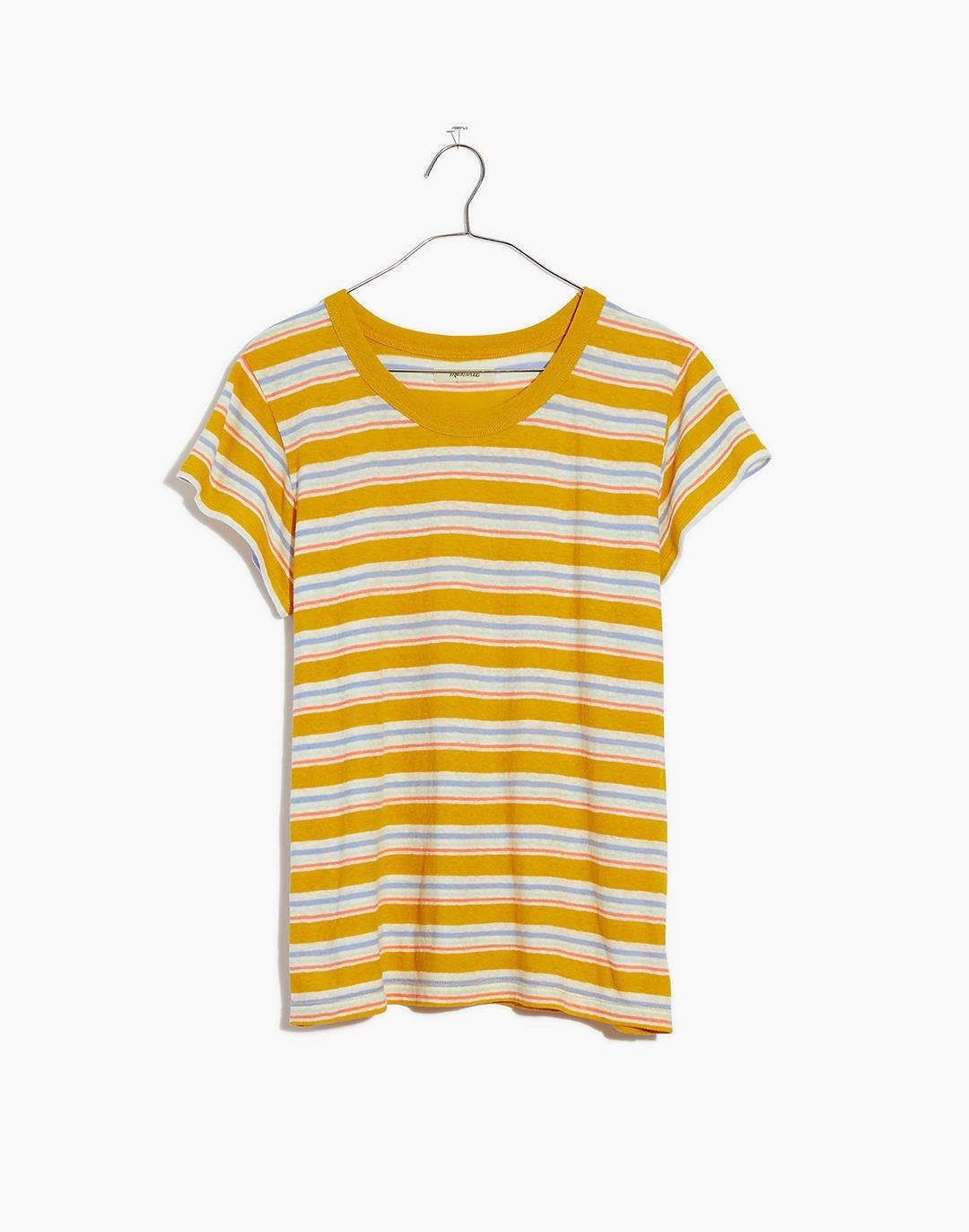 The Perfect Vintage Tee in Upson Stripe