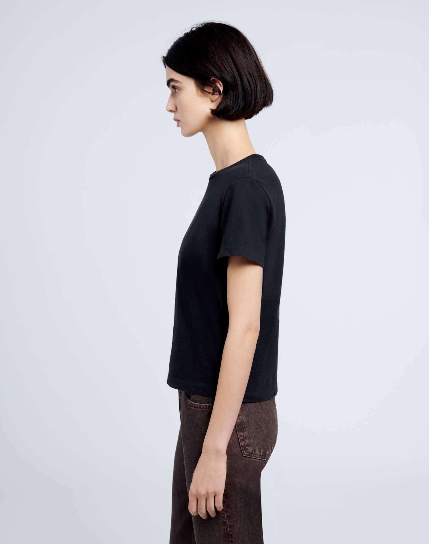 Heritage Cotton Classic Tee - Washed Black 3