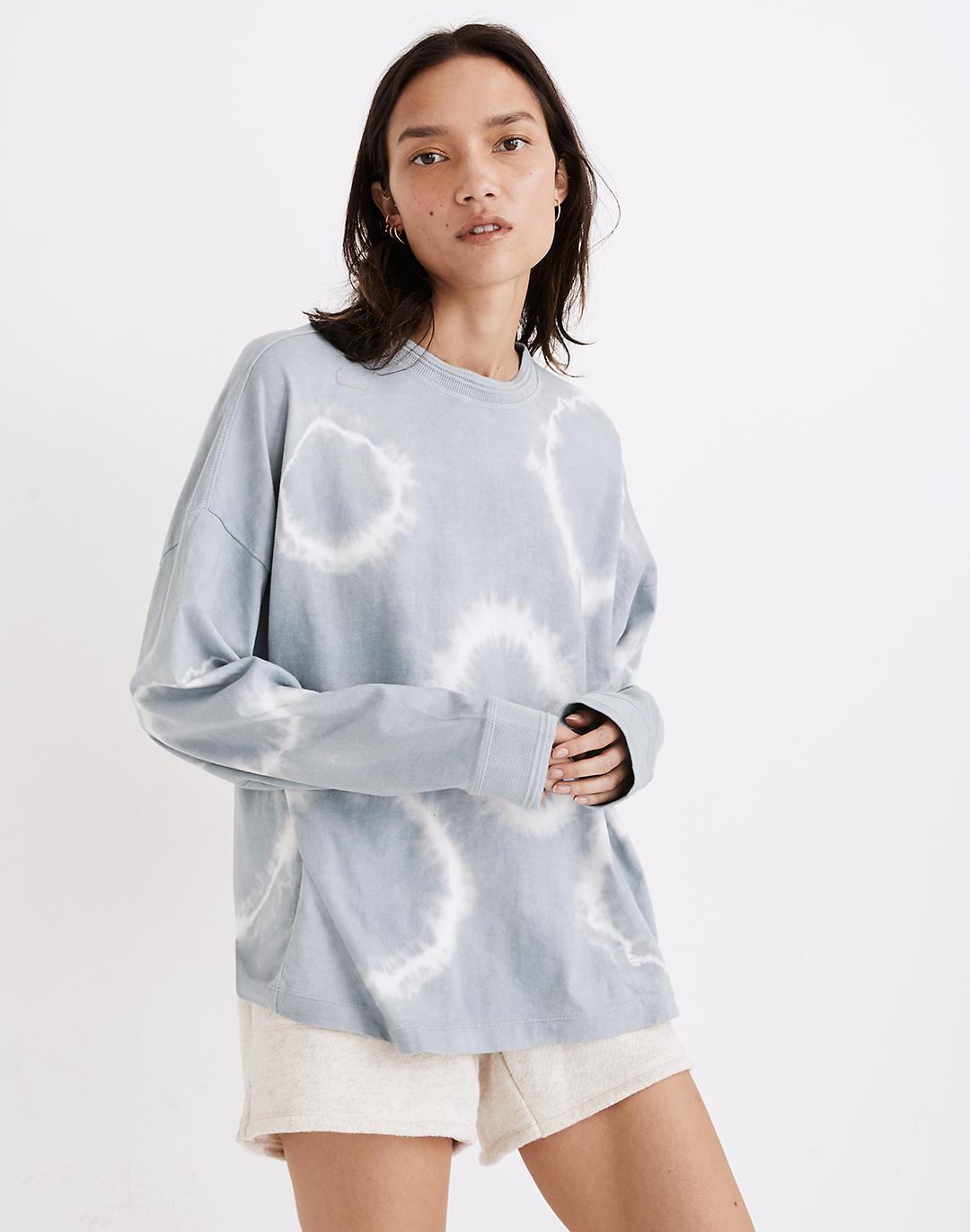 Richer Poorer Long-Sleeve Relaxed Tee