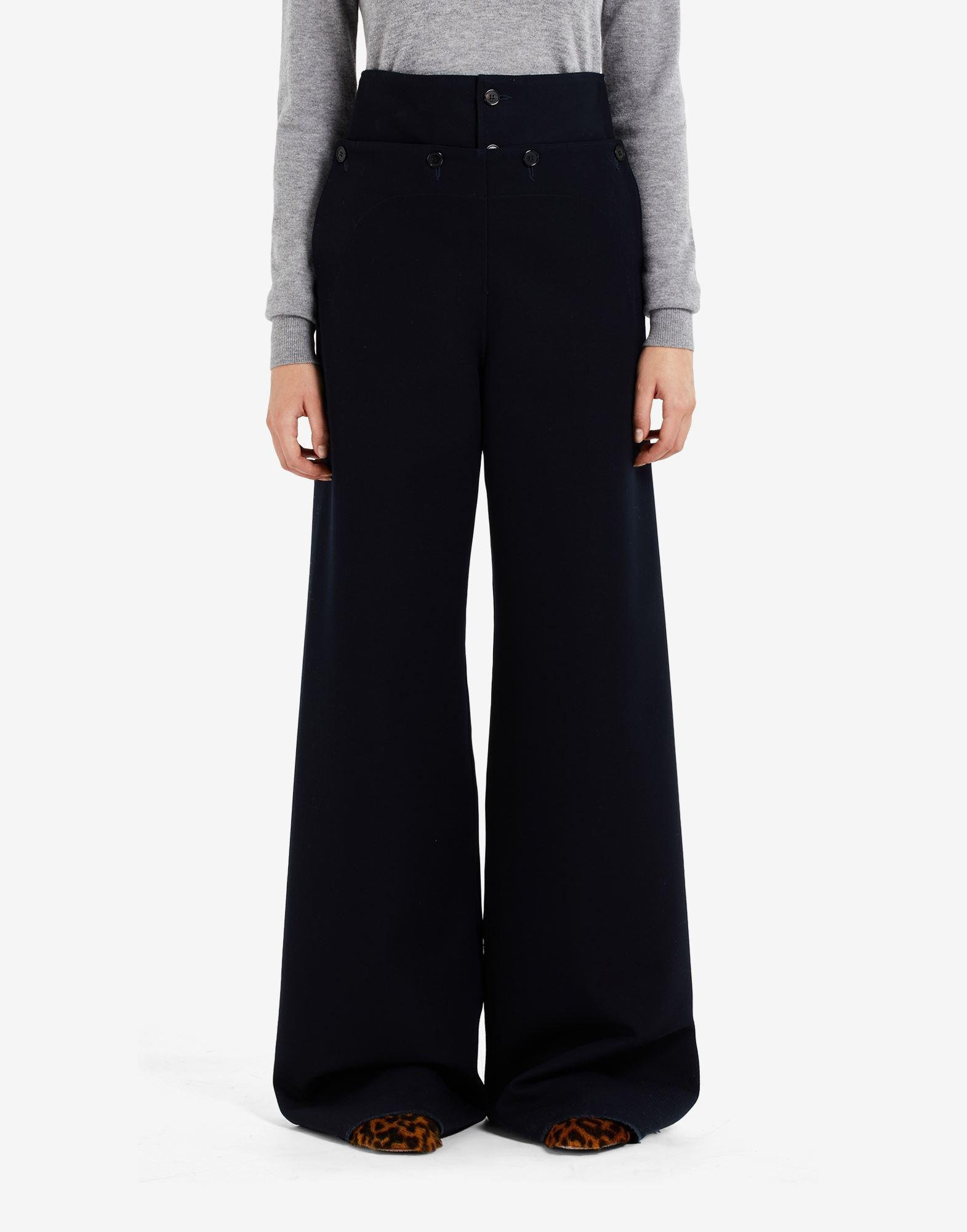 High-waisted pleated trousers 3