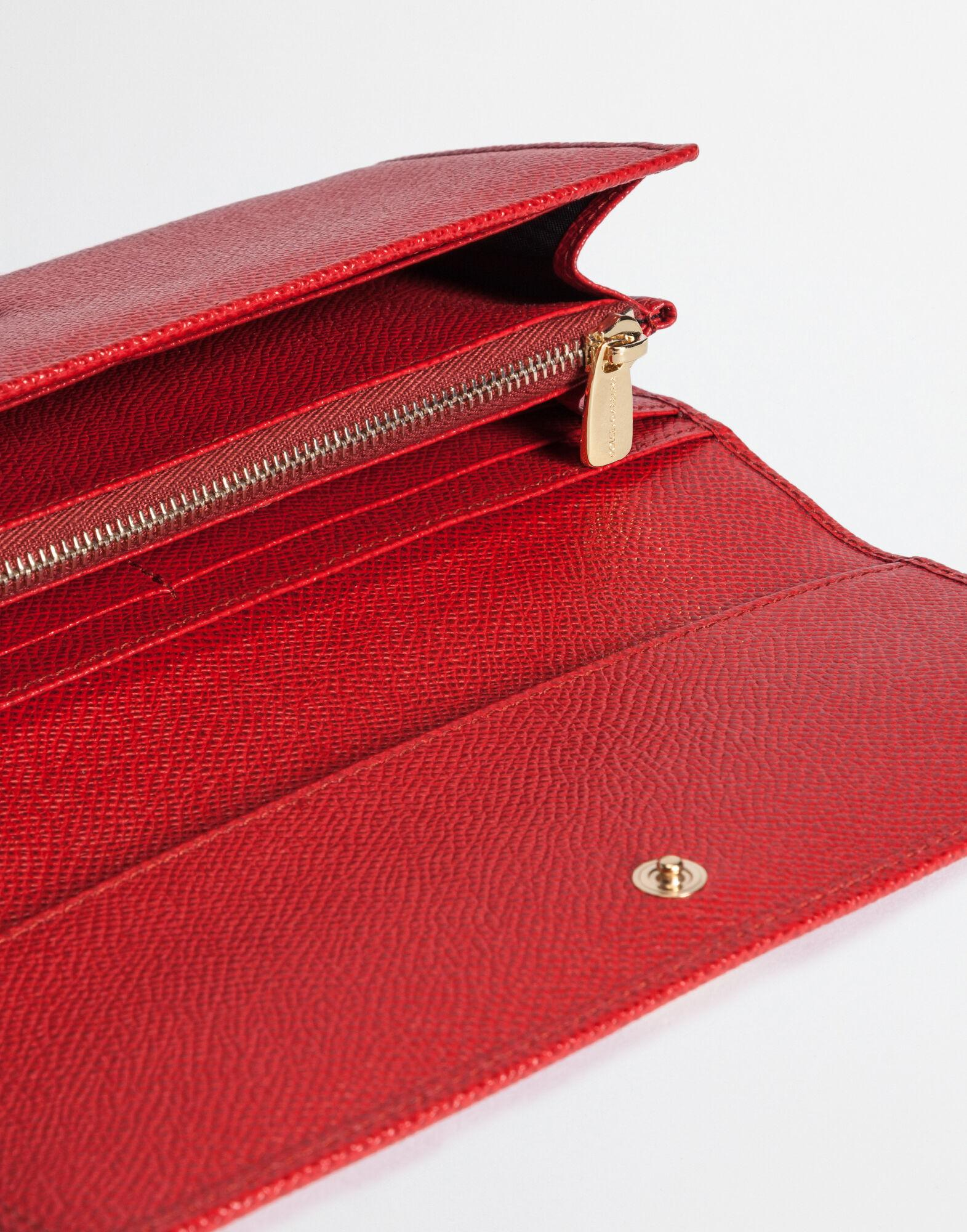 Continental wallet in dauphine leather 1